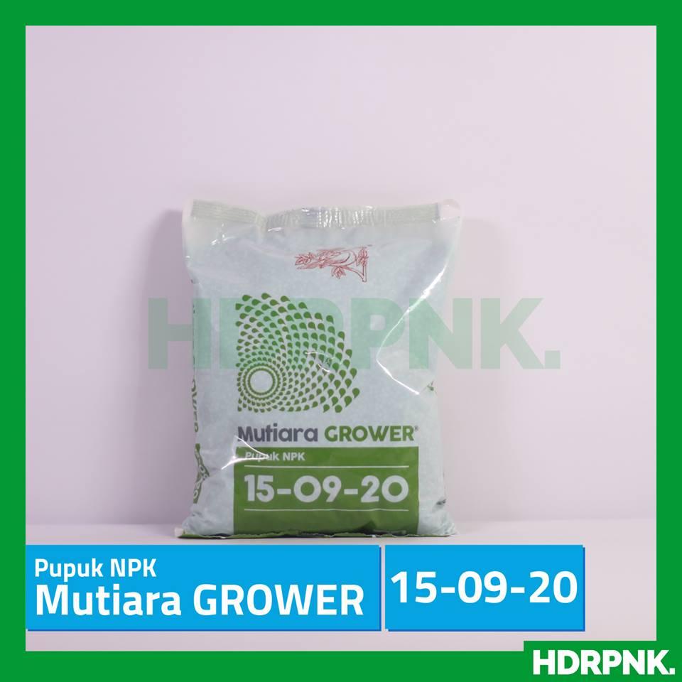 Pupuk Npk Mutiara Grower 15 09 20 1 Kg