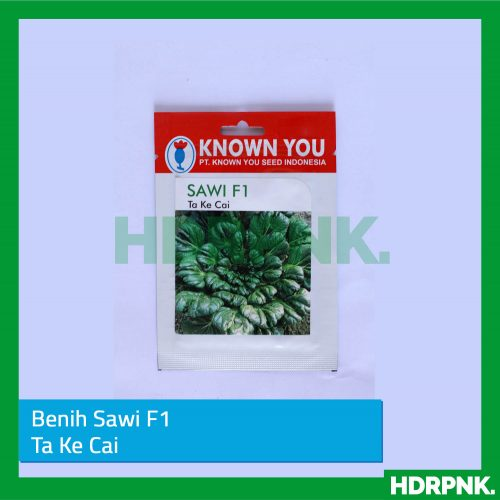 Benih Tatsoi Pagoda TA KE CAI – Known You Seed (EP)