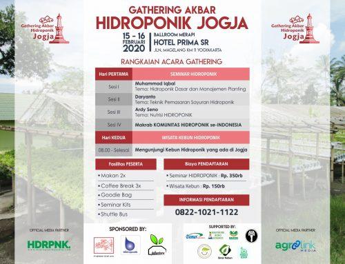 Gathering Akbar Hidropoik Jogja (15-16 Februari 2020)